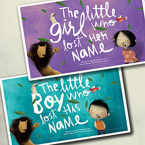 Personalised Child's Story Book - gifts for children