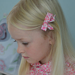Liberty Print Hairclips