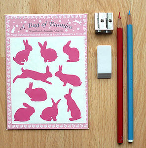 A Bag Of Bunnies Wall Stickers - children's room