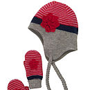 Manty Hat And Mitten Set