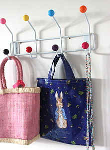 Candy Ball Hook Rack - bathroom