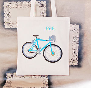 Personalised Bicycle Bag - bags, purses & wallets