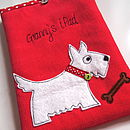 Personalised Scotty Dog iPad Case