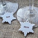 Personalised Christmas Drink Charm