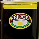 Marmite Parody Vinyl Fridge Cover