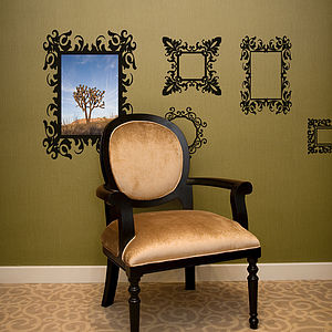 Antique Frames Wall Sticker Set