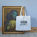'More Mr Kipling Than Mr Darcy' Tote Bag