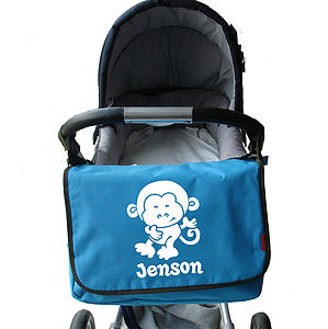Personalised Baby Change Bag - baby changing