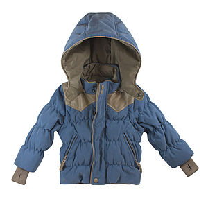 Boys Down Reversible Coat And Gilet - coats & jackets
