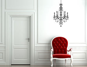 Chandelier Wall Sticker - home accessories