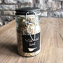 Wild Bird Seed In Gift Jar