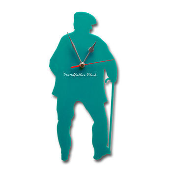 Grandfather Clock Turquoise