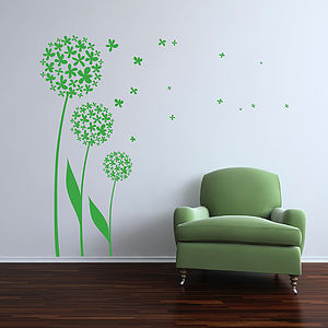 Dandelion 02 Wall Sticker - wall stickers