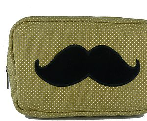 Dapper Cosmetic Bag   More Designs