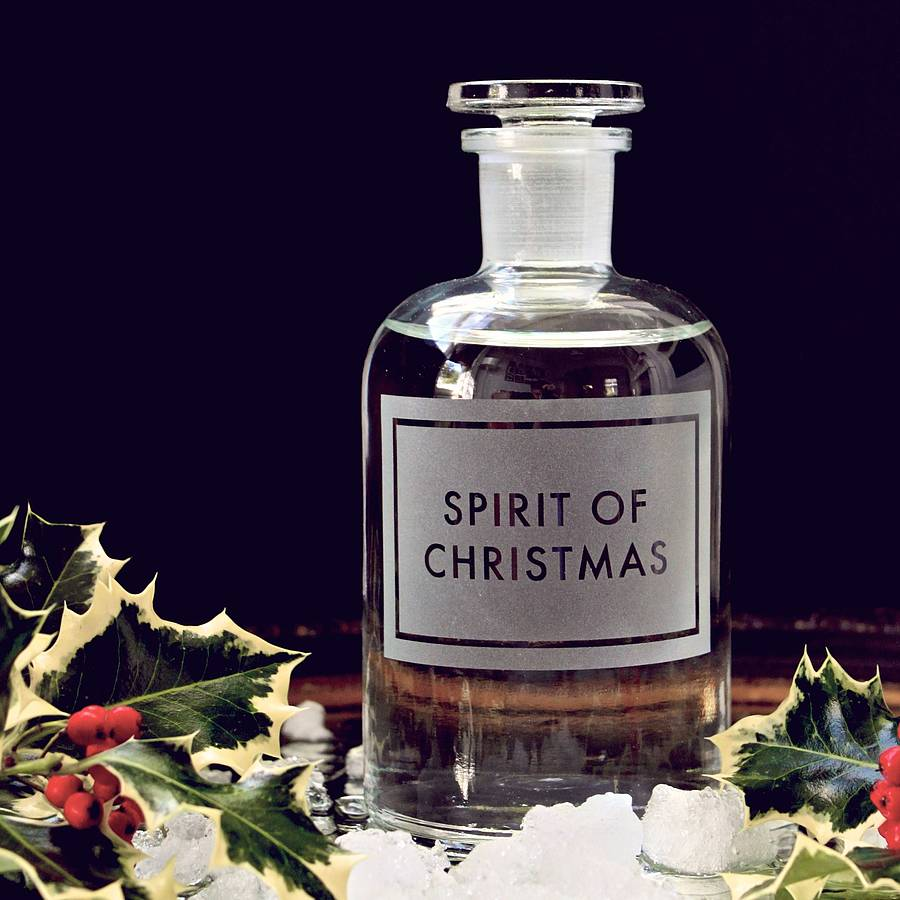 Spirit Of Christmas Decanter By Lime Lace