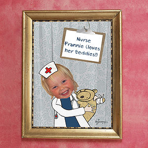 Personalised Nurse Poster