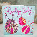 Lady Birds Card