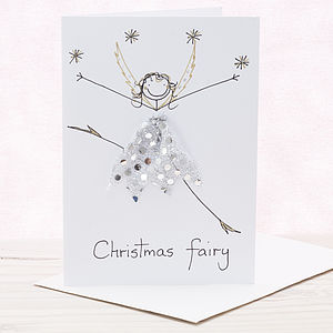 Handmade Personalised Christmas Card - seasonal cards