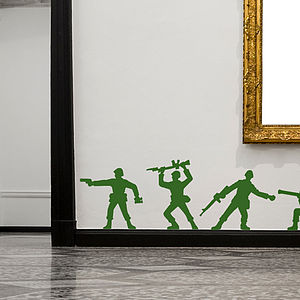 Toy Soldier Wall Stickers - home sale