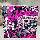Cow Parsley Birthday Card