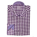 Men's Slim Fit Checked Shirt