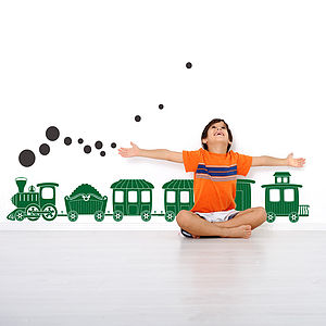Train Wall Sticker - children's room