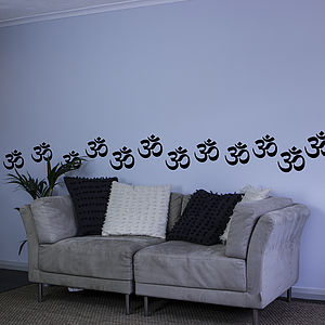 Om Symbol Decal Pack - office & study