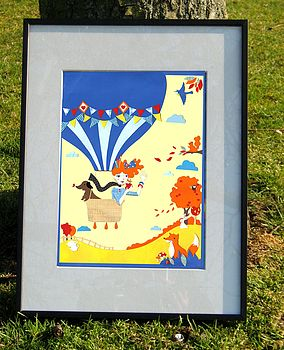 'Up, Up And Away!' Limited Edition Print