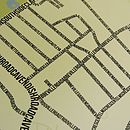 Abbeville Village Typographic Street Map