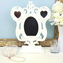 Vintage Cream Triple Mirror
