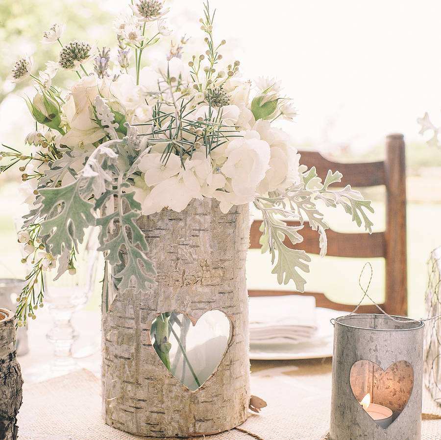 Wooden Vases Wedding - Vase and Cellar Image Avorcor.Com