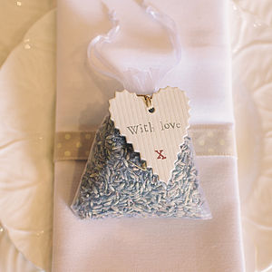 Lavender Bag Wedding Favours - wedding favours