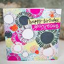 Layered Shapes Birthday Card