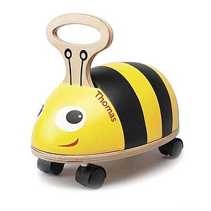 Personalised Bug Ride On - best gifts for children