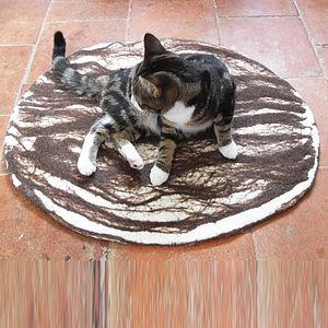 Natural Cat Pet Bed Mat Rug