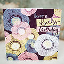 Organic Origin Birthday Card