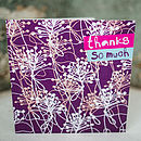 Sprigs Thank You Card