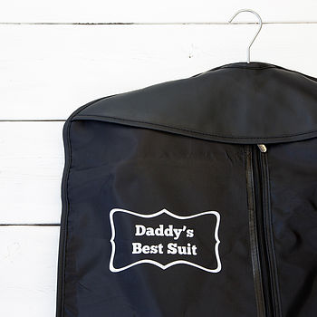 Personalised Suit Cover