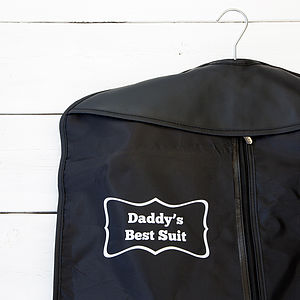 Personalised Suit Cover - gifts by category