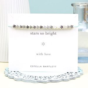 Stars So Bright Friendship Bracelet - children's accessories