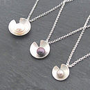 Lily Pearl Pendants - Small, Medium & Large