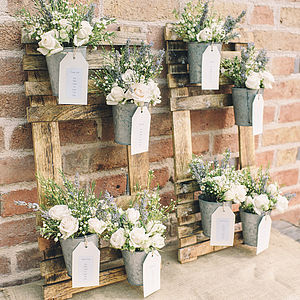 Wooden Wedding Table Plan - table plans