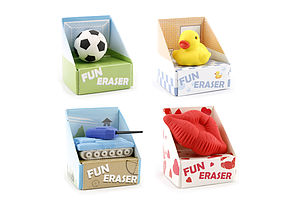 Mini Fun Novelty Eraser - shop by price