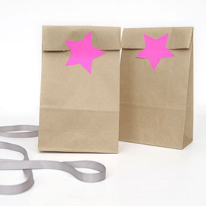 Star Stickers - wedding favours