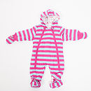 Girls Striped Pramsuit