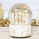 Christmas Wonderland Musical Snow Globe