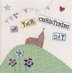 'On Your Christening Day' Greeting Card - shop by occasion