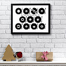 Personalised Play List Vinyl Print
