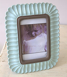 Mint Green Vintage Styled Photo Frame - spring home updates