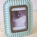 Mint Green Vintage Styled Photo Frame